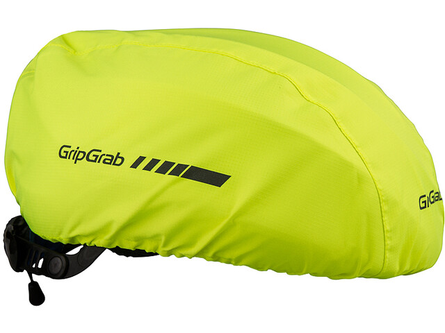 GripGrab Helmet Cover Hjelmcover, fluo yellow